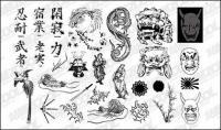 Pergi produksi Media Set12-Jepang klasik desain