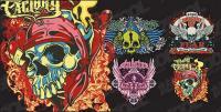 Esqueleto t-shirt design