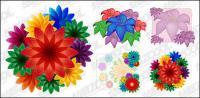 아름 다운 꽃 벡터 자료