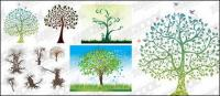 деревья шаблон вектор