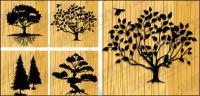 Material de árvores