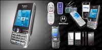 รูปแบบไอวัสดุเวกเตอร์โทรศัพท์มือถือ