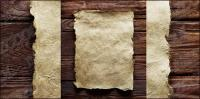 Совет старого материала бумаги изображение