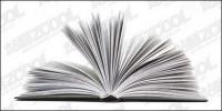 La calidad de imagen voltear libros