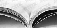 Abrir la calidad de imagen de primer plano de libro