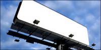 Les grandes lacunes en plein air billboard image matériel-3