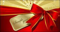 Beau ruban rouge bow