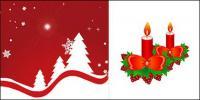 Свечи и резки Рождественская елка