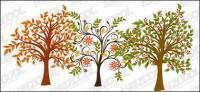 árboles de vectores de material