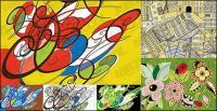 abstrakt Hintergrund Grafiken