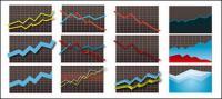 Estadísticas icono elemento material de vectores