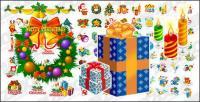 Тема Классические рождественские значок