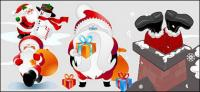 sch�ne Santa Claus-Vektor-material