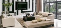 Material de imagen elegante salón