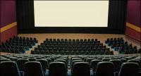 静かな映画画像素材