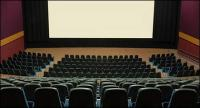 Material de imagem de cinema silencioso