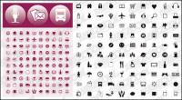 Icon more than a simple vector graphics material