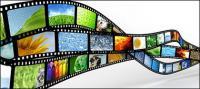 Динамическое изображение видеоматериал