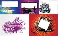 2009 la tendencia del elemento material de vectores