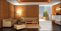Schönes Haus interior Bild Material-5
