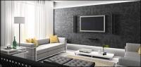 Bella imagen interior casa material-2