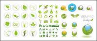 зеленый значок вектор