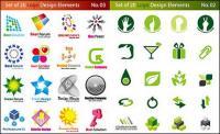 グラフィック ロゴをベクター素材テンプレート