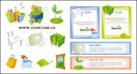 Greenhat серии значок векторного материала-2