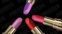 Matériau de texture pour le rouge à lèvres vecteur