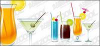 bebidas de copos de vetor material