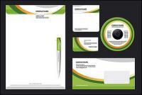 Einfach Unternehmen VI-Vorlage-Vektor-material