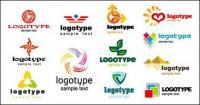 Красивая графика логотип шаблон векторного материала
