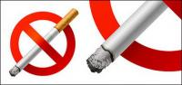 Nenhum material de vetor de fumadores
