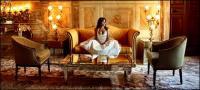 Hôtel somptueux lobby image matériel-2