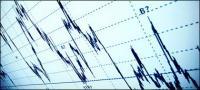 Image de courbes stock matériel