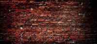 Material de imagem de papel de parede de fundo de tijolo vermelho