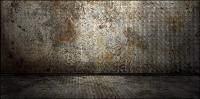 Material de imagen de papel tapiz de fondo metal