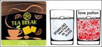 Trinken Getränke-Vektor-material