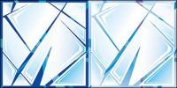 Vektor-geknackt Glas (Material)
