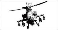 อะแพชี helicopters vector วัสดุ