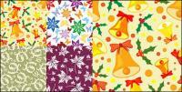 o plano de fundo do Natal e o material de vetor padrão