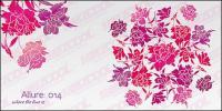 Простые и красивые цветы векторный материал