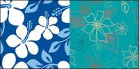Vector Flowers background Material und praktische