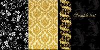 material de vectores de moda patrón seleccionado
