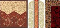 大陸の実践的なパターン ベクトル材料
