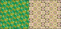 material de antecedentes de azulejo de vectores