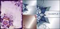 3 Blume-Grenze-Vektor-material