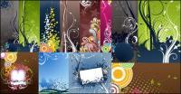 Различные практические моды шаблон вектор справочных материалов
