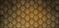 Material de imagen de papel tapiz de patrón continental