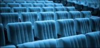 Niemand im Kino Bild Material-2
